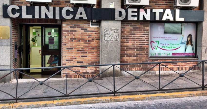 Clínica dental Mentrisalud | El Espinar | Fachada