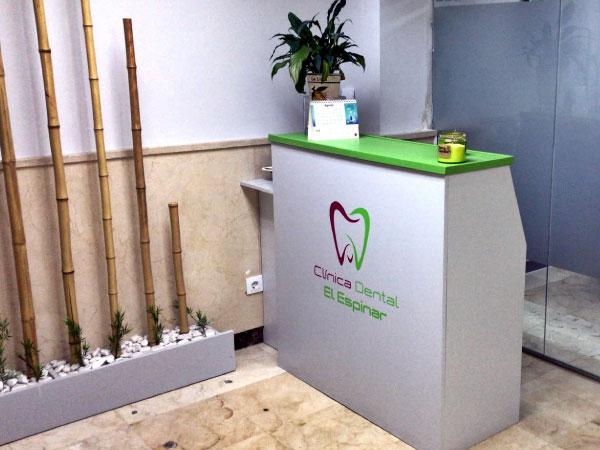 Clínica dental Mentrisalud | El Espinar | Recepción