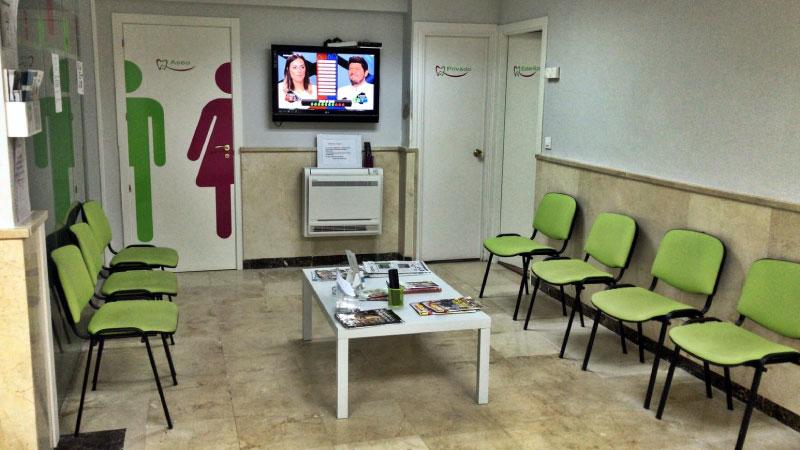 Clínica dental Mentrisalud | El Espinar | Sala de espera